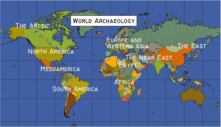 World Archaeology Maps and Timeline